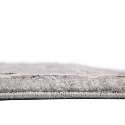 Mariel Silver Area Rug Rug Size: 84 x 84