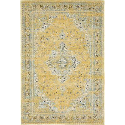 Marine Yellow Area Rug