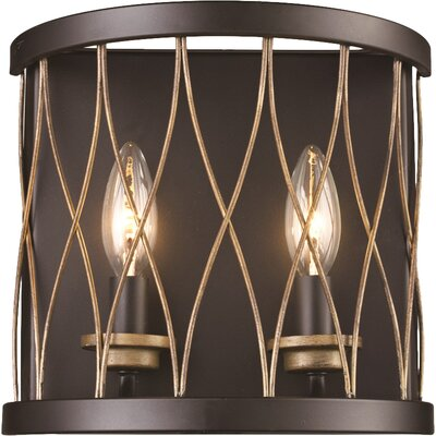 Marathon 2-Light Candle Sconce