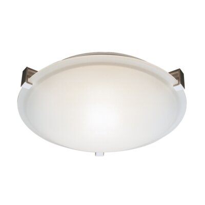 Macedon 4-Light Flush Mount Finish: Brushed Nickel
