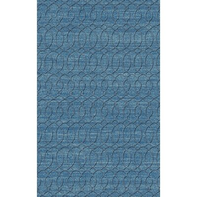 Grange Aqua Area Rug Rug Size: Rectangle 8 x 11