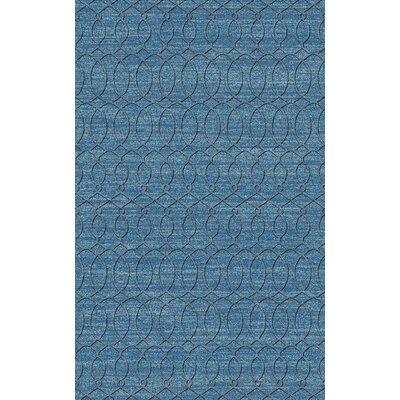 Grange Aqua Area Rug Rug Size: 2 x 3