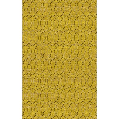 Grange Yellow Area Rug Rug Size: 5 x 8