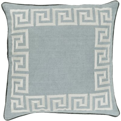 Hirsh Linen Throw Pillow Cover Size: 20 H x 20 W x 1 D, Color: GreenGray