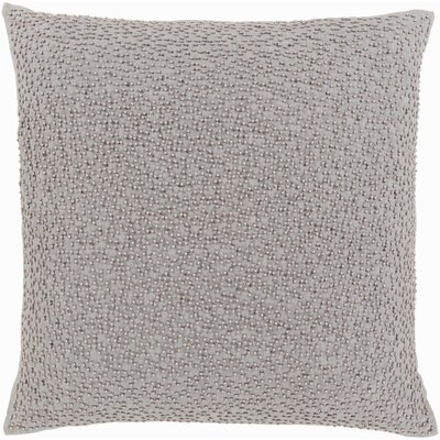 Gaunt 100% Linen Throw Pillow Cover Color: GrayTaupe