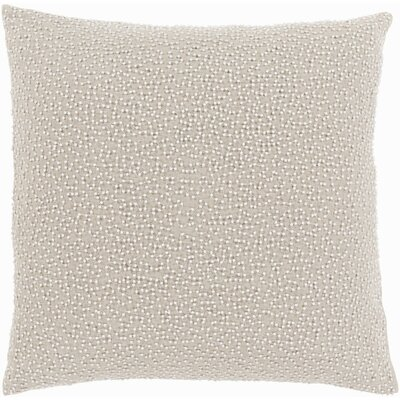Gaunt 100% Linen Throw Pillow Cover Color: GrayNeutral