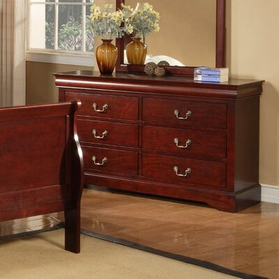 Hopkinsville 6 Drawer Double Dresser