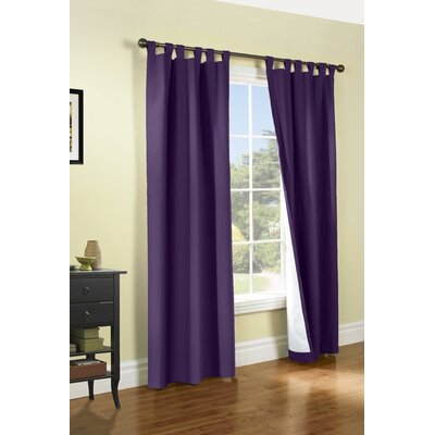 Alcott Hill Ranger Thermal Tab Top Curtain Panels