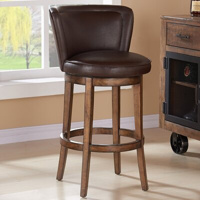 Guinyard 26 Swivel Bar Stool with Cushion