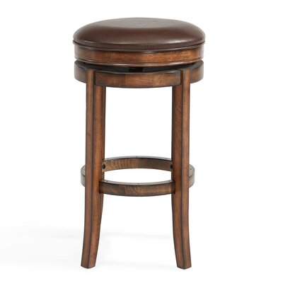 Gattis 26 Swivel Bar Stool with Cushion