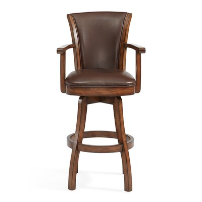 Shockley 30 Swivel Bar Stool with Cushion
