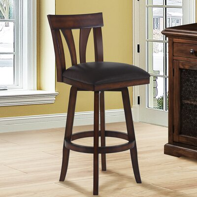 Gladys 26 Swivel Bar Stool with Cushion