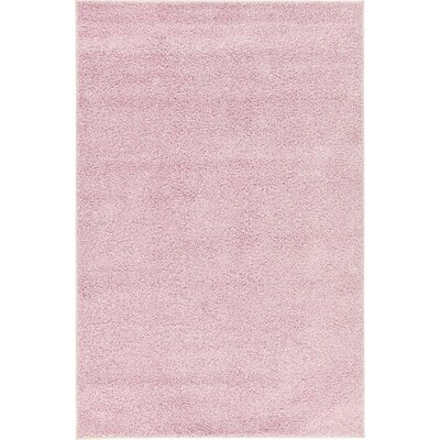 Sellman Pale Pink Area Rug