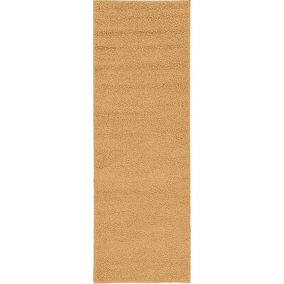 Sellman Light Brown Area Rug Rug Size: Runner 33 x 910
