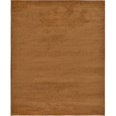 Sellman Brown Area Rug Rug Size: 67 x 910