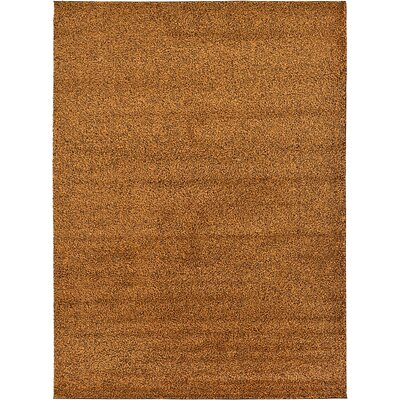 Sellman Orange Area Rug Rug Size: Rectangle 67 x 910
