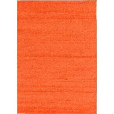 Sellman Orange Area Rug