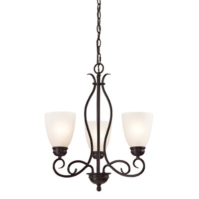Sophia 3-Light Shaded Chandelier