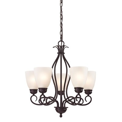 Sophia 5-Light Shaded Chandelier