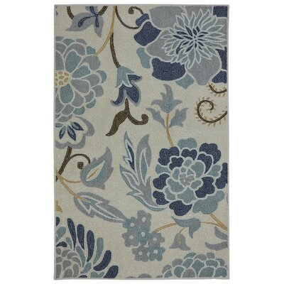 Thorson Power Flower Printed Kitchen Mat