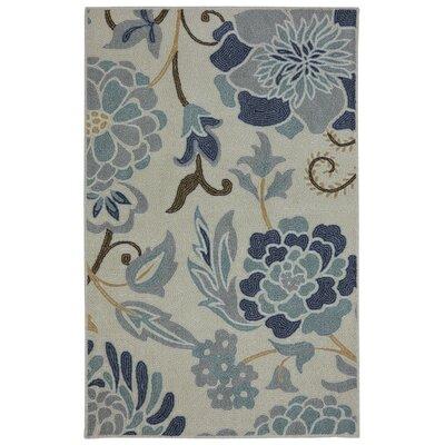 Thorson Power Flower Printed Kitchen Mat