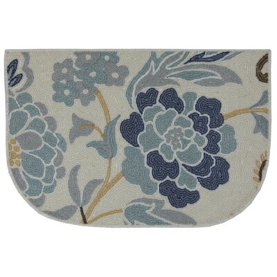 Thorson Power Flower Printed Slice Kitchen Mat