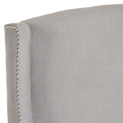 Hattiesburg Upholstered Wingback Headboard Size: Full