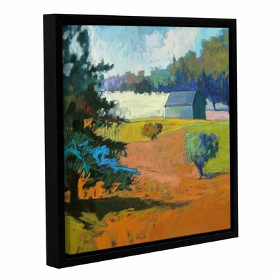 Paysage Cinq Framed Painting Print on Canvas Size: 10