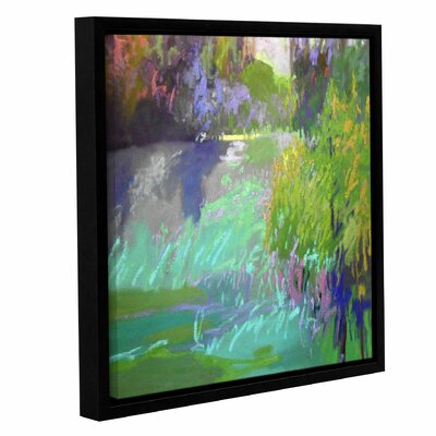 Flowing Through Framed Painting Print on Canvas