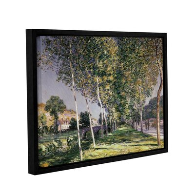 The Walk, 1890 Framed Painting Print on Wrapped Canvas