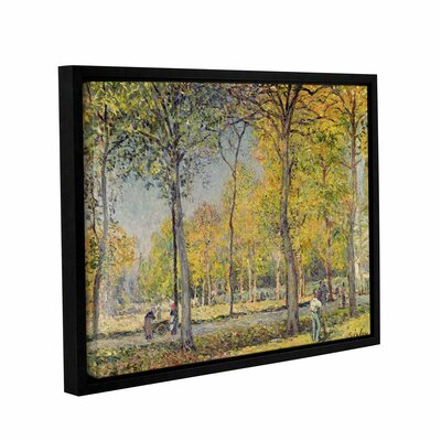 The Bois De Boulogne Framed Painting Print on Wrapped Canvas