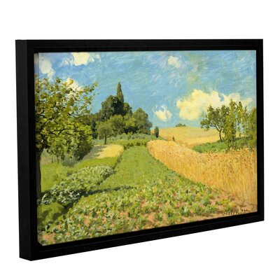 The Cornfield Framed Painting Print on Wrapped Canvas Size: 12