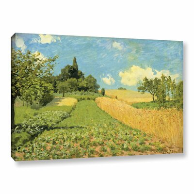 The Cornfield Painting Print on Wrapped Canvas