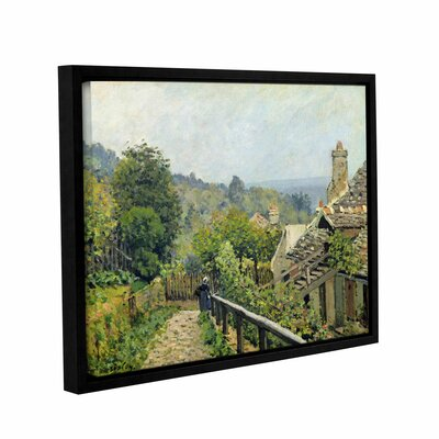 Louvenciennes or, The Heights at Marly, 1873 Framed Painting Print on Wrapped Canvas