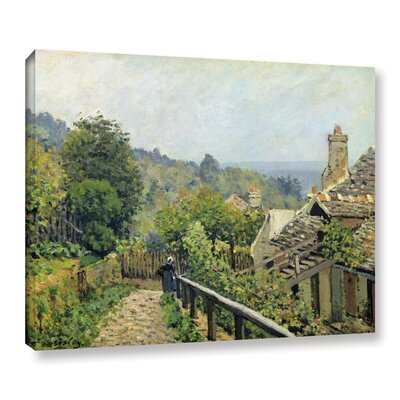 Louvenciennes or, The Heights at Marly, 1873 Painting Print on Wrapped Canvas