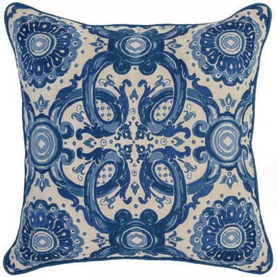 Geaux Throw Pillow Color: Blue