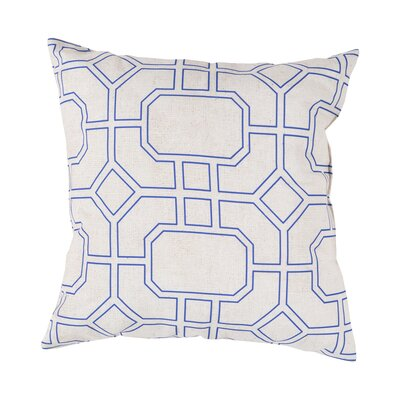Haysville Smooth Lined Intersection Outdoor Throw Pillow Size: 26 H x 26 W x 4 D