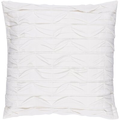 Dewitt Pillow Cover Size: 20 H x 20 W x 1 D, Color: Neutral