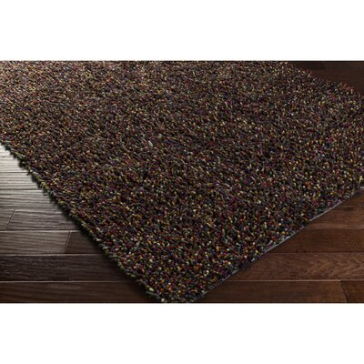Annette Orange/Purple Area Rug Rug Size: 57 x 711