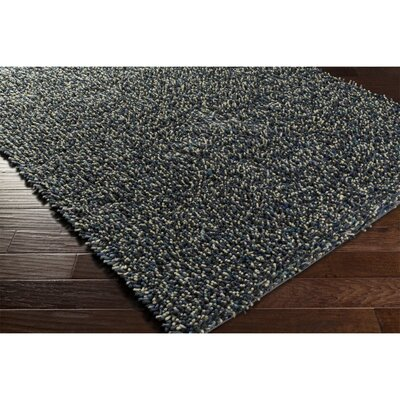 Annette Black/Blue Area Rug Rug Size: Rectangle 57 x 711