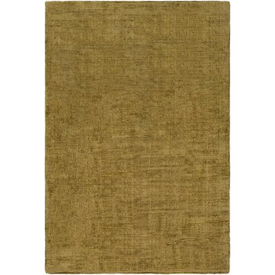 Goldston Hand-Loomed Green Area Rug Rug Size: Rectangle 9 x 13