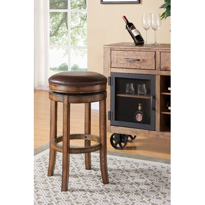 Gattis 30 Swivel Bar Stool with Cushion