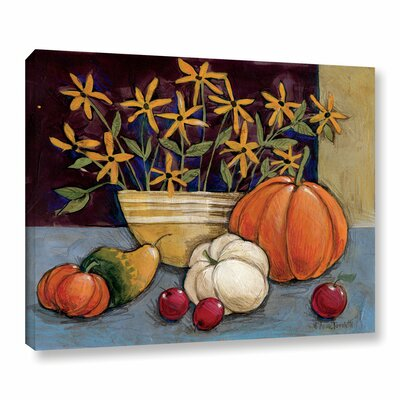 Yellow Ware Painting Print on Wrapped Canvas Size: 14