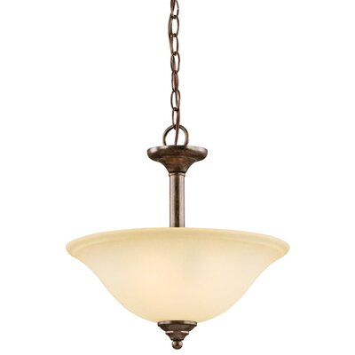 Guerro 2-Light Convertible Pendant Finish: Chrome
