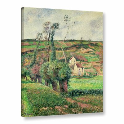 The Cabbage Slopes, Pontoise, 1882 Painting Print on Wrapped Canvas Size: 10