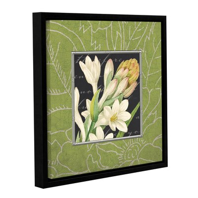 Freesia Framed Graphic Art on Wrapped Canvas