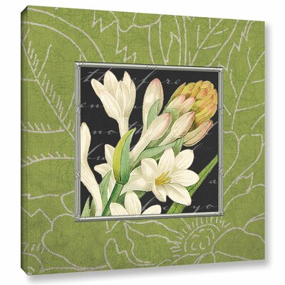 Freesia Graphic Art on Wrapped Canvas