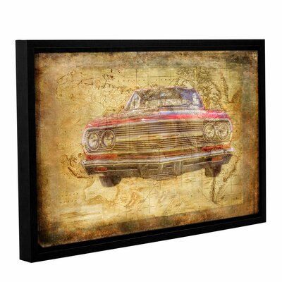 World Class Framed Graphic Art on Wrapped Canvas Size: 12