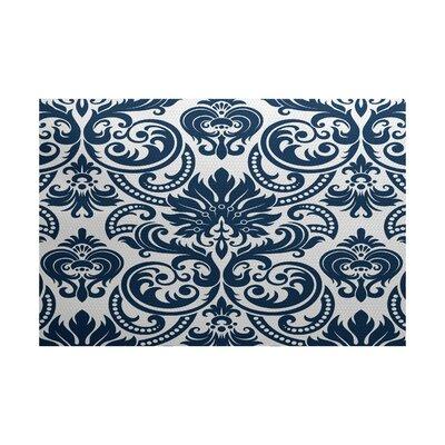 Hazlewood Blue Indoor/Outdoor Area Rug Rug Size: 2 x 3