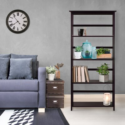 63 Etagere Bookcase Color: Espresso